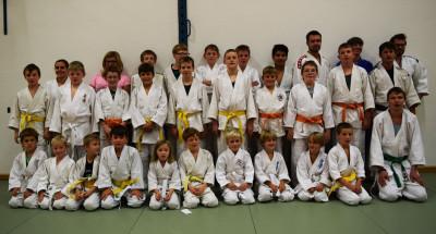 Gemeinsames Training in Boswil