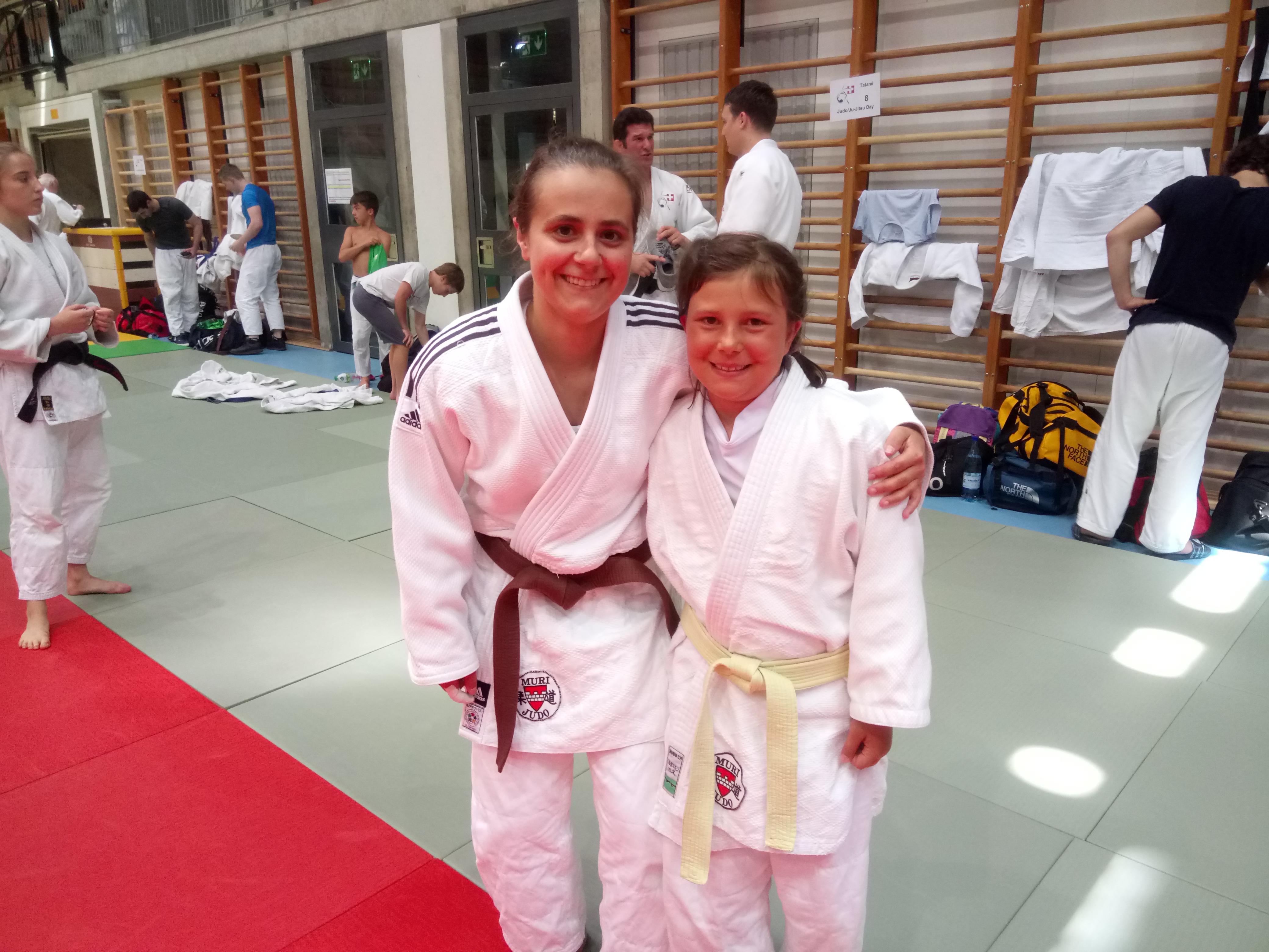 Frauenpower vom Judo Club Muri am nationalen Judo Day 2019